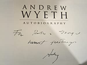 Andrew Wyeth Autobiography. Inscribed presentation copy signed by Andrew Wyeth.