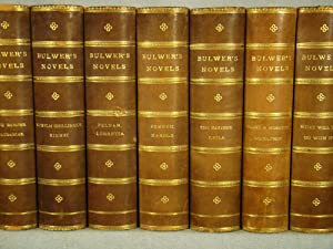 Bulwer?s Novels. Complete set in thirteen volumes, three-quarter polished calf.