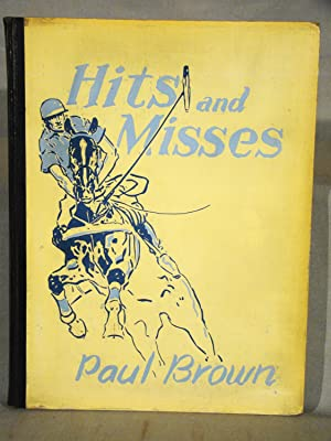 Hits and Misses. The author?s copy inscribed & signed with an original drawing. Association copy.