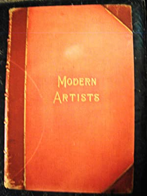 Modern Artists a Series of Illustrated Biographies. Super royal folio (21  x 14 ), many etchings ...