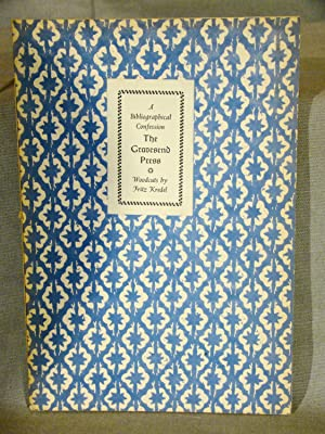 Gravesend Press A Bibliographical Confession With Woodcuts by Fritz Kredel. One of 500 copies.