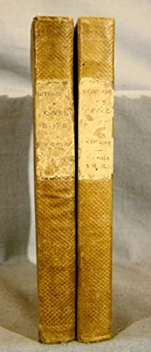 Retrospect of Western Travel. First American edition, 1838 in 2 volumes in original cloth.