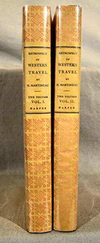 Retrospect of Western Travel. Facsimile of the first American edition.
