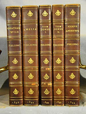 [The Novels of Henry Fielding.] The History of the Life of the Late Mr. Jonathan Wild the Great a...