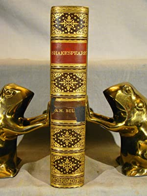 The Works of William Shakespeare. Fine polished calf gilt extra signed fine binding by Riviere & ...