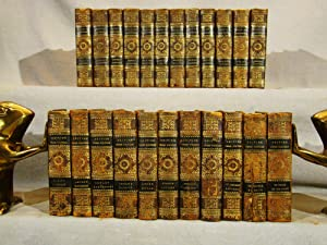 The British Prose Writers. 23 volumes in period full calf, 1819-1821.