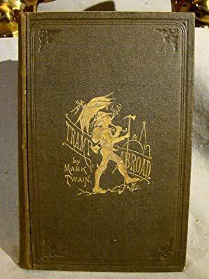 A Tramp Abroad. A near fine first edition, 1880, in original cloth.