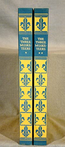 The Three Musketeers. Limited Editions Club in two volumes, 1932 with hand colored plates.