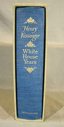White House Years. Limited edition of 3500 copies signed by Kissinger.