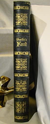 Faust Eine Tragodie. Huge gilt extra full morocco with 25 steel engraved plates, 17 wood engraved...