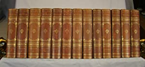 The Works of Washington Irving Geoffrey Crayon Edition in 27 volumes ¾ calf.