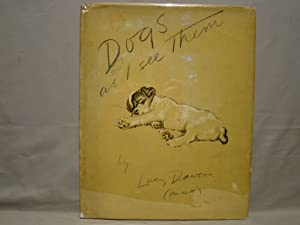 Dogs as I See Them. 22 color plates 1937 first edition pictorial dj