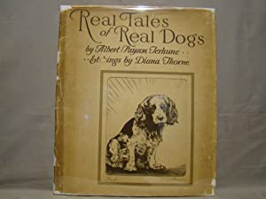 Real Tales of Real Dogs. 12 plates 1935 first edition pictorial dj
