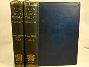 TYPES OF ETHICAL THEORY. 2 vols.