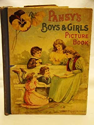 Pansy's Boys & Girls Picture Book. Salesman?s Sample.