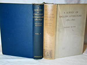 A Survey Of English Literature 1780-1830.