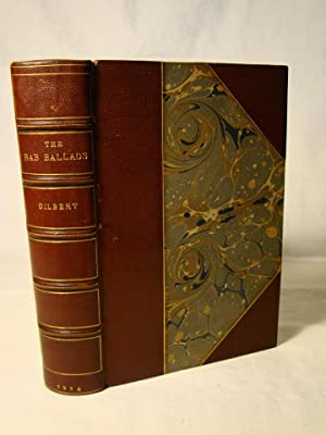 The Bab Ballads With Wich are Included Songs of a Savoyard. Morocco & marbled boards fine signed ...