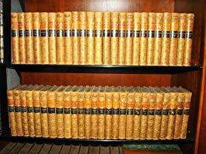 Works. The Waverley Novels. 50 volumes in full calf.