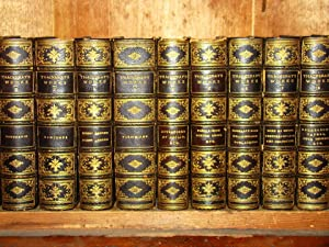 The Works. Fine binding 12 volumes 3/4 morocco gilt extra.
