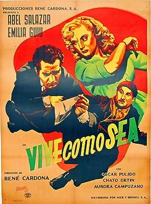 Vive Como Sea Vintage Poster: Josep Renau