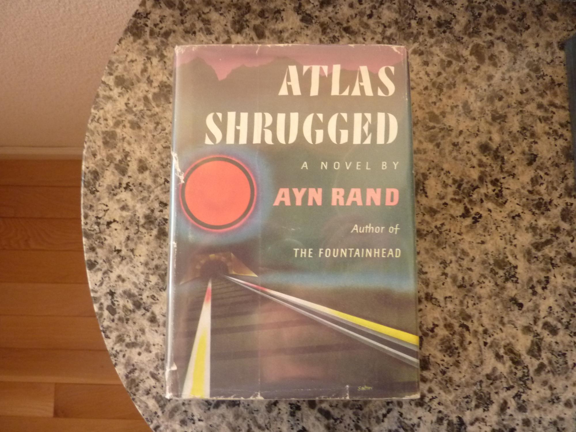 1957 1st printing Atlas Shrugged by Ayn Rand Objectivism