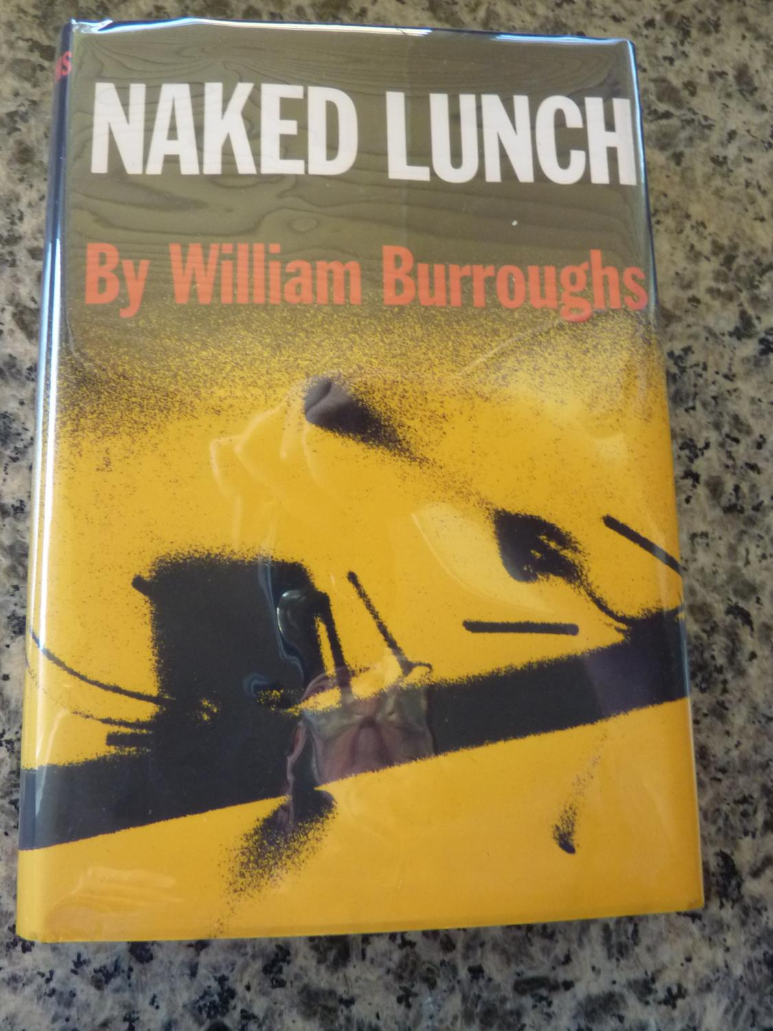 NAKED LUNCH William S Burroughs First Edition 2nd Printing