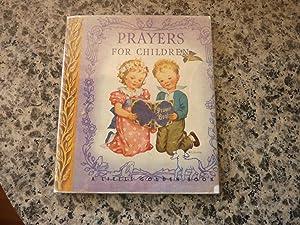 Prayers for Children: Dixon, Rachel Taft