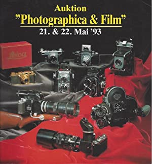 Auktion Photographica & Film 21, 22 Mai '93 / Photographica & Film 21, 22 May '93