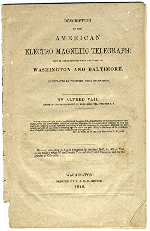 Description of the American Electro Magnetic Telegraph : Now in Operation between the Cities of W...