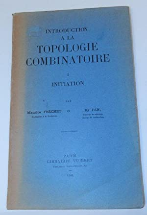 Introduction a la Topologie Combinatoire