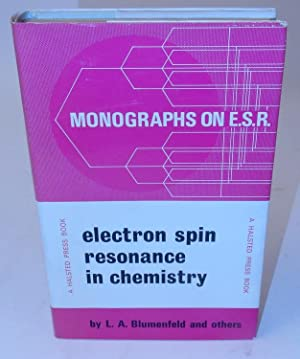 Electron Spin Resonance in Chemistry