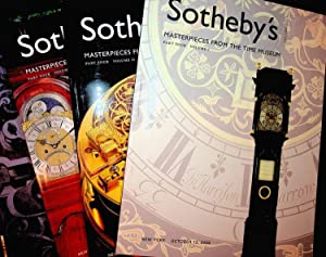 Masterpieces From the Time Museum, Part Four: Sotheby's auction sale N08039 held October 13-15, 2...
