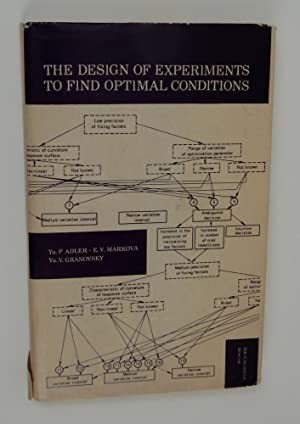 The Design of Experiments to Find Optimal Conditions a Programmed Introduction to the Design of E...