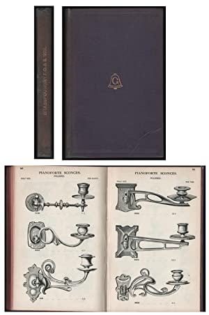 Illustrated Catalogue of Cabinet & General Brassfoundry: Frederick Giles and Sons: