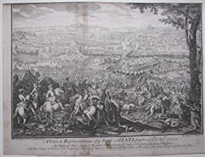 A View & Representation of ye Battle of ZENTA fought on ye 11thof September 1696'