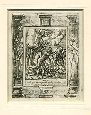 THE DANCE OF DEATH. Plate III. The Expulsion from Paradise.