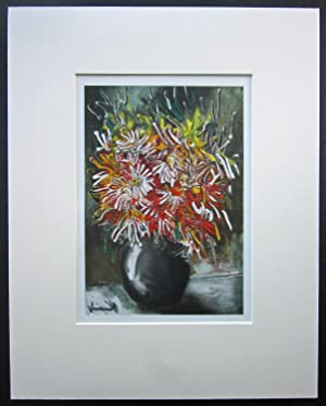 MAURICE VLAMINCK Lithograph [China Asters]