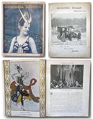 Comoedia illustré (1er juin 1911) - Ballets: Diaghilev, Serge 1872-1929.