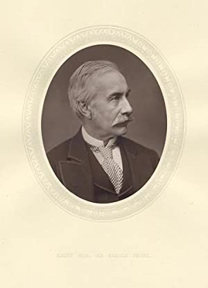 Original 1876 Photographic Portrait of The Right Hon Sir Henry Bartle Edward Frere Bart.,G.C.B.
