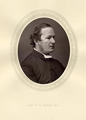Rev F.W.Farrar,D.D.,F.R.S.,Original 1876 Photographic Portrait