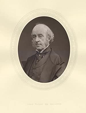 James Lord De Malahide: Original 1876 Photographic Portrait.