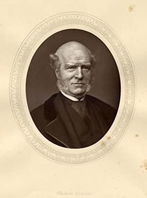 Thomas Hughes, QC.,Original 1880 Photographic Portrait