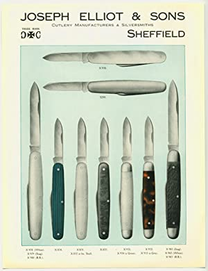 Joseph Elliot & Sons. Est 1795. Cutlery Manufacturers & Silversmiths. SHEFFIELD POCKET ...