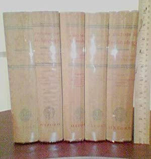 A History of Technology (5 volume set): Singer, Charles, E. J. Homyard, A.R. Hall, Trevor I. ...