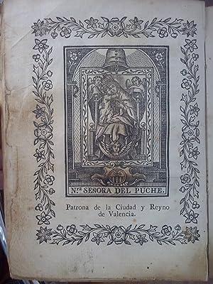 Monasterio del Puig (Valencia)] Historia de la imagen sagrada de la Virgen Ssma. del Puig, primera,...