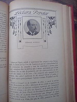 Lectura Popular. Biblioteca d'autors catalans (XXI vols.) COLECCIÓN COMPLETA: VV.AA.