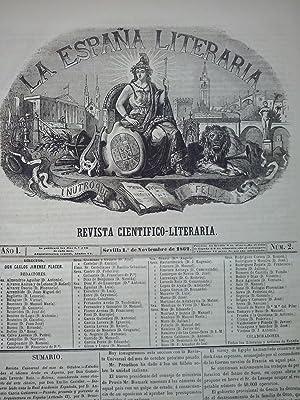La España Literaria. Revista científico-literaria. Año I, núm. 1 (1 de ...