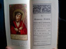La Semana Santa, con la Santa Misa: Lavalle, J. A.