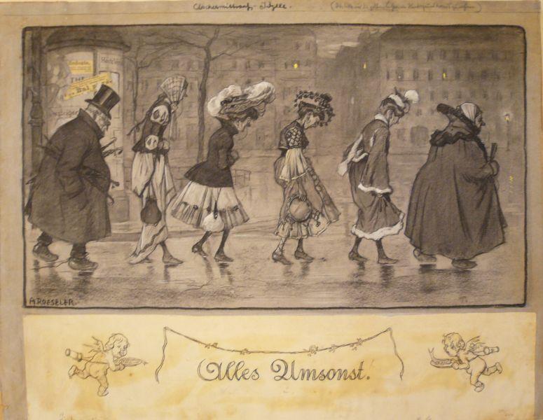 Aschermittwoch Idylle / Alles Umsonst / (Wieder: Roeseler, August (1866