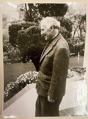 Porträt des Künstlers Marc Chagall s/w Original-Fotografie.